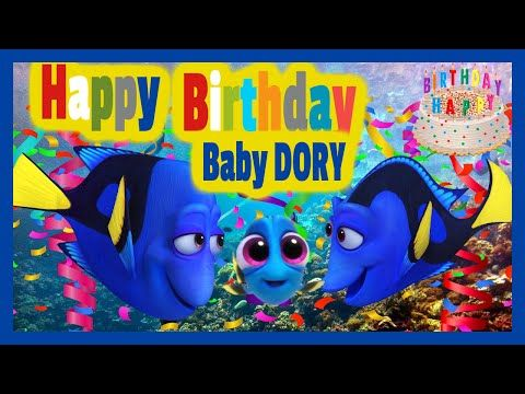 Happy birthday baby dory reggae style finding dory los juguetes happy birthday baby dory reggae style finding dory los juguetes animados vdeos divertidos bookmarktalkfo Image collections