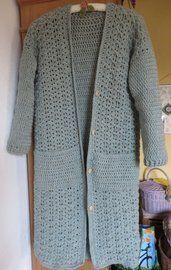 Gratis Patroon Wintervest A Crochet Y 2 Agujas Haken Gratis