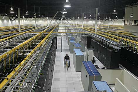 QTS Realty Trust is known for building massive data centers, like ...