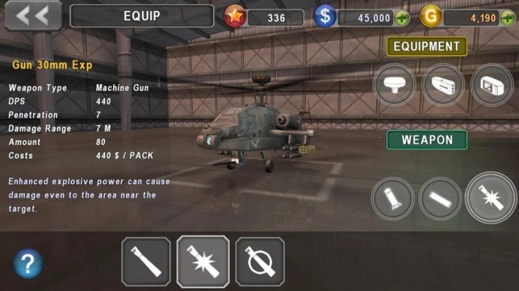 army gunship helicopter games 3d mod apk