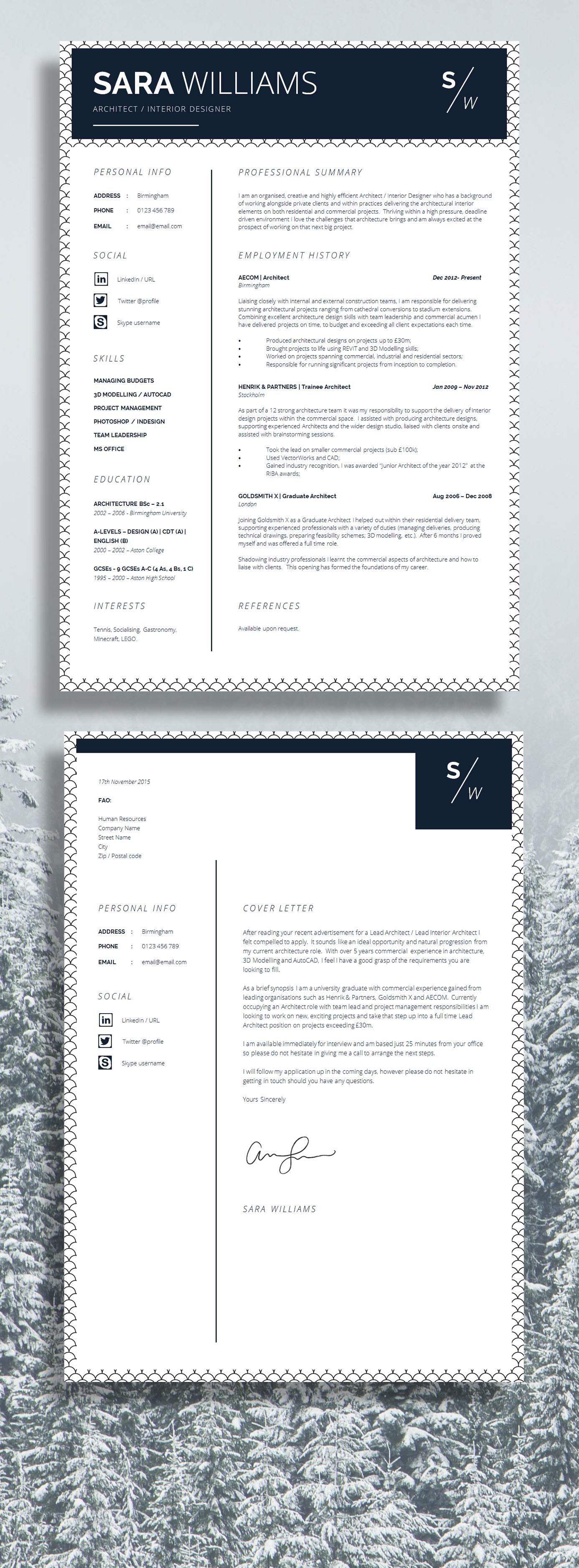 Curriculum Vitae | CV Design | Resume Design | Instant ...