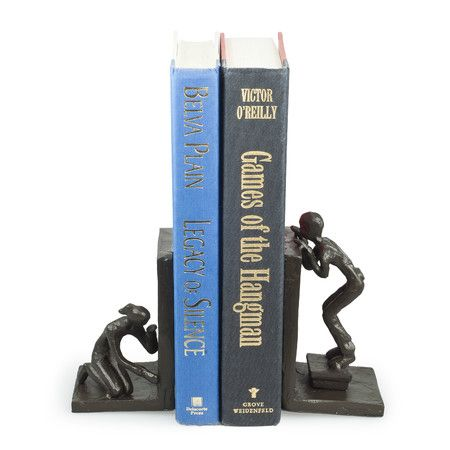 Peek-a-Boo Book Ends (Set of 2)