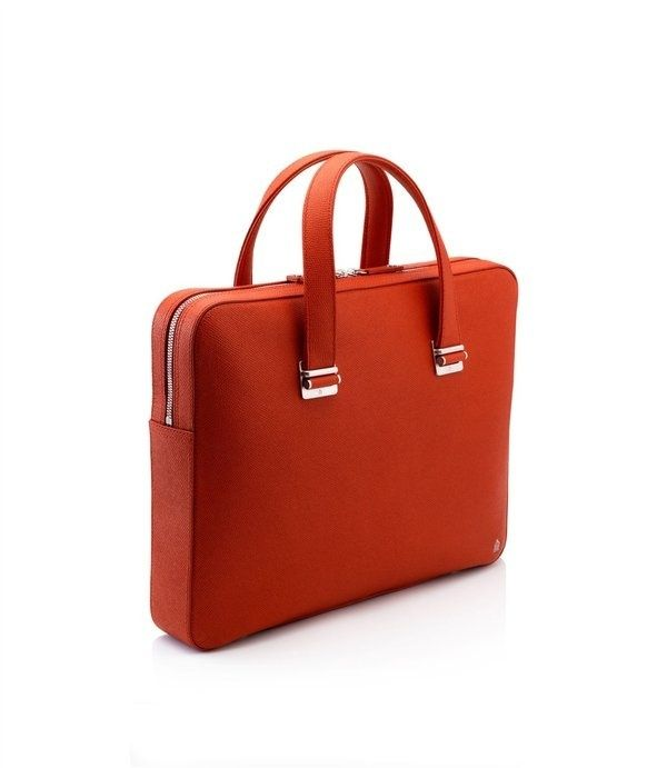 375cf8e107ca Bourdon Cognac Slim Briefcase Men  s Designer Leather Briefcases ...