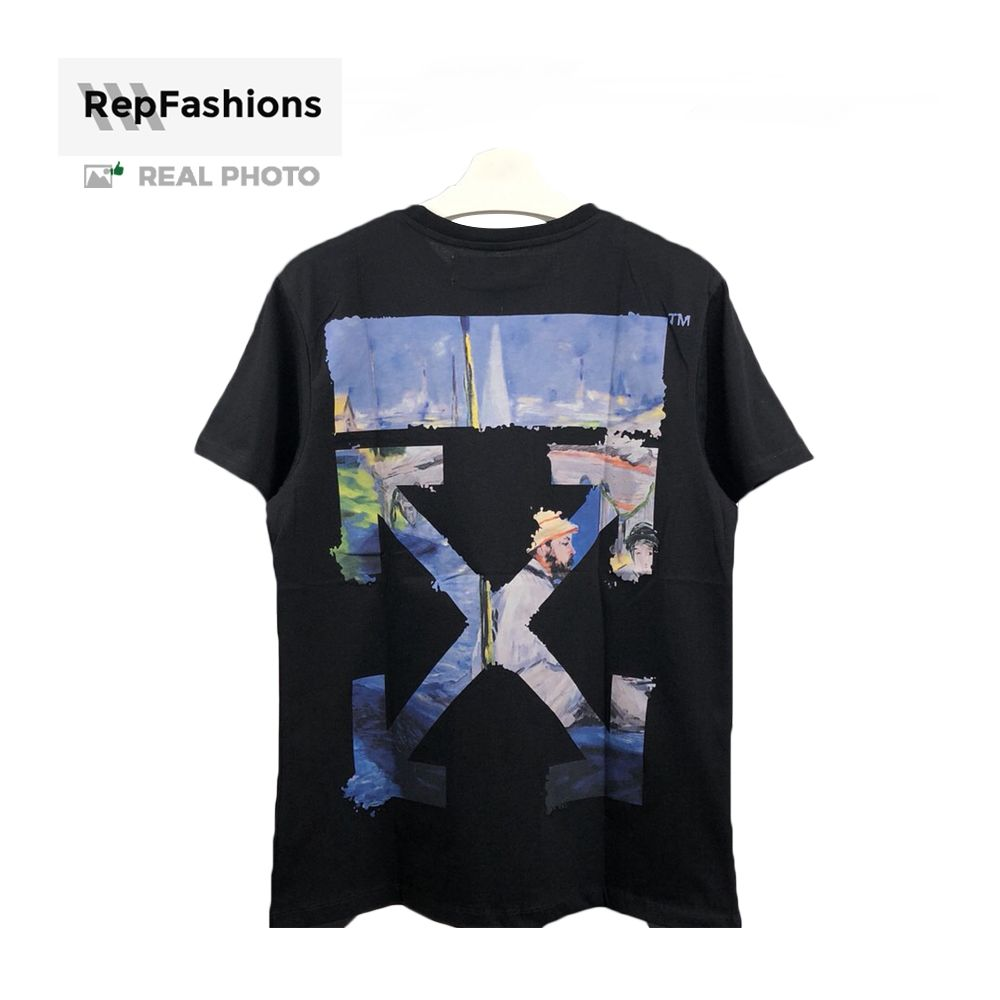 Rep Off White Colored Tee Arrow T Shirt Off White Colorful Tee