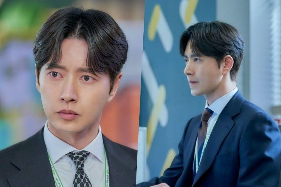 "Park Hae Jin Looks Troubled By An Unexpected Storm In ""Kkondae Intern"""