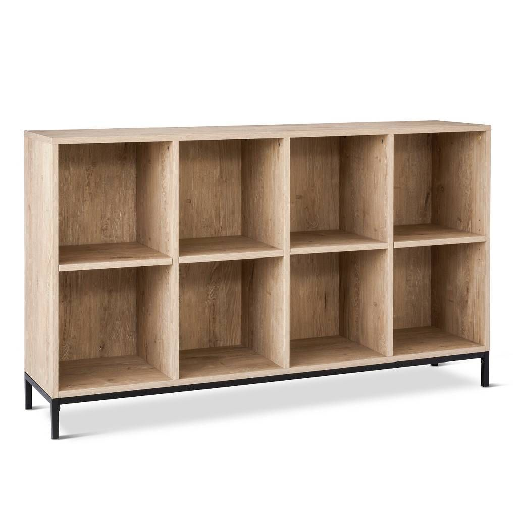Darley cube bookcase vintage oak threshold image of