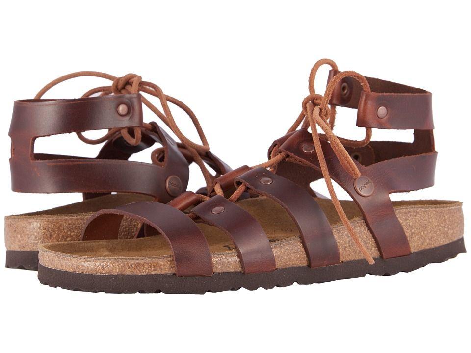 c75da52df94 Birkenstock Cleo (Cognac Leather) Women s Sandals
