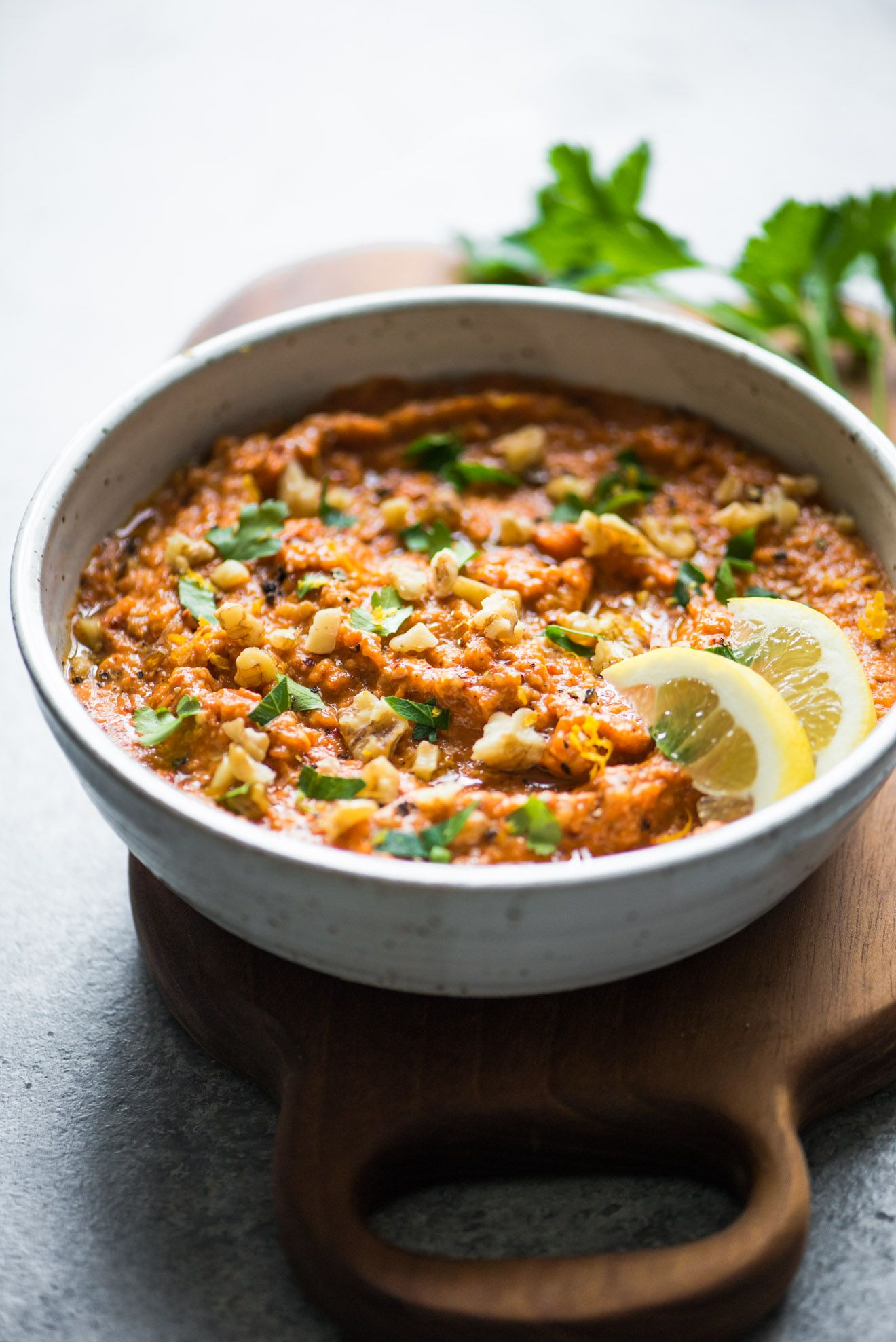 Muhammara Syrian Red Pepper Dip