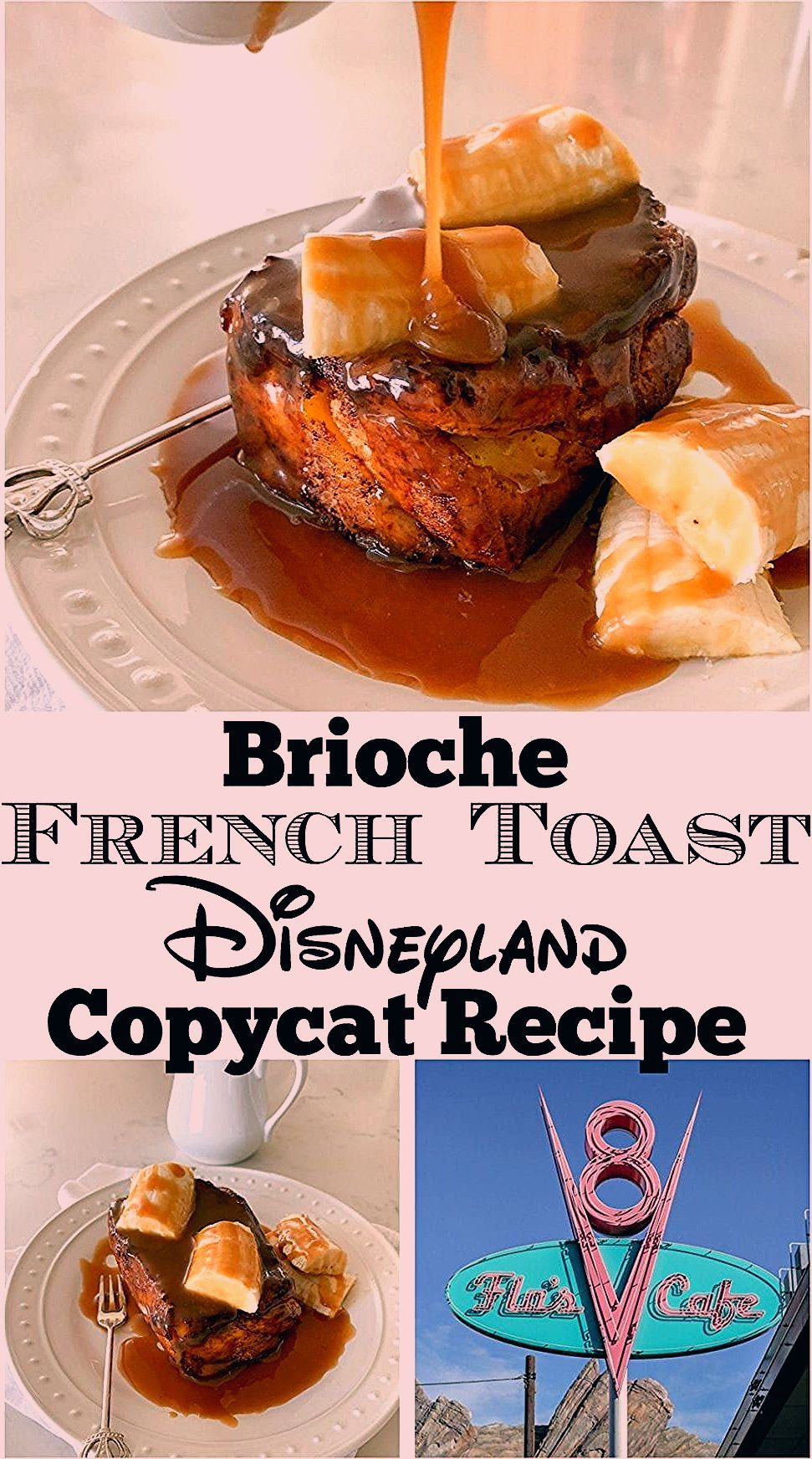 Photo of Brioche French Toast Recipe | Homemade Disneyland Food
