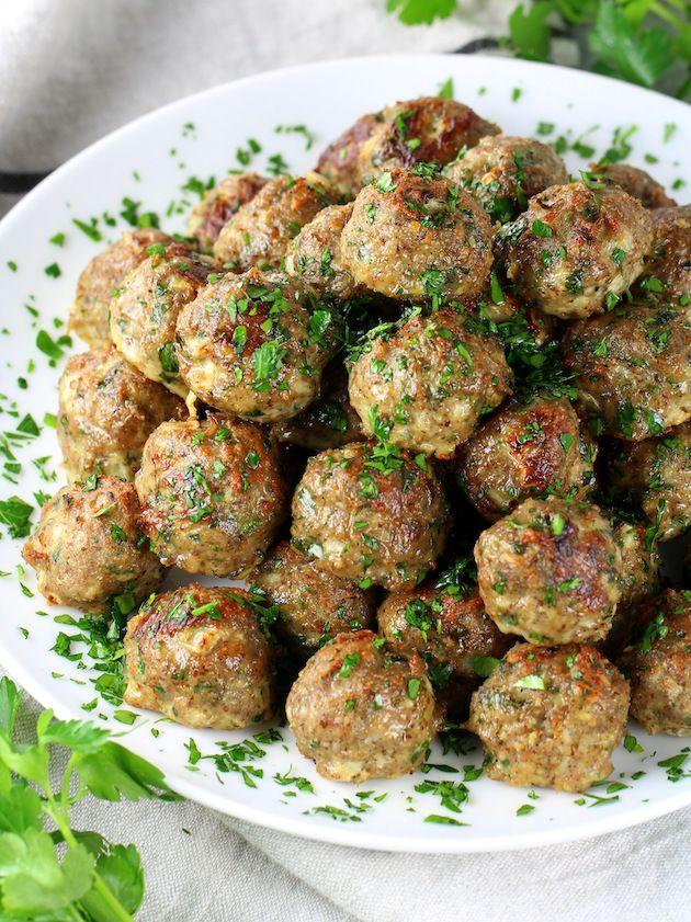 Healthy Meal Prep Baked Turkey Meatballs   Taste A