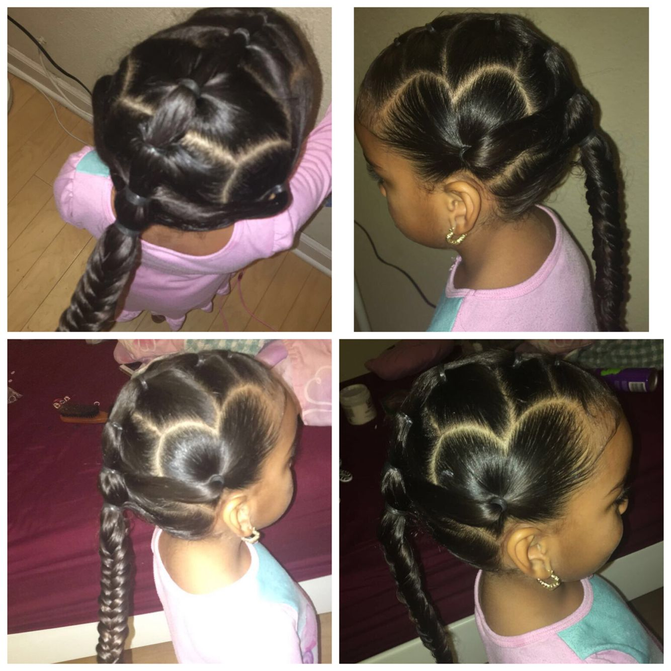 mixed toddler hairstyles | mixed toddler girl hairstyles in