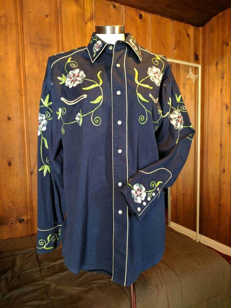Rockmount Ranch Wear Denver CO Mens Vintage Western