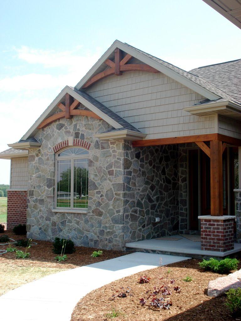 Timber Gable Truss Homestyle Pinterest Exterior