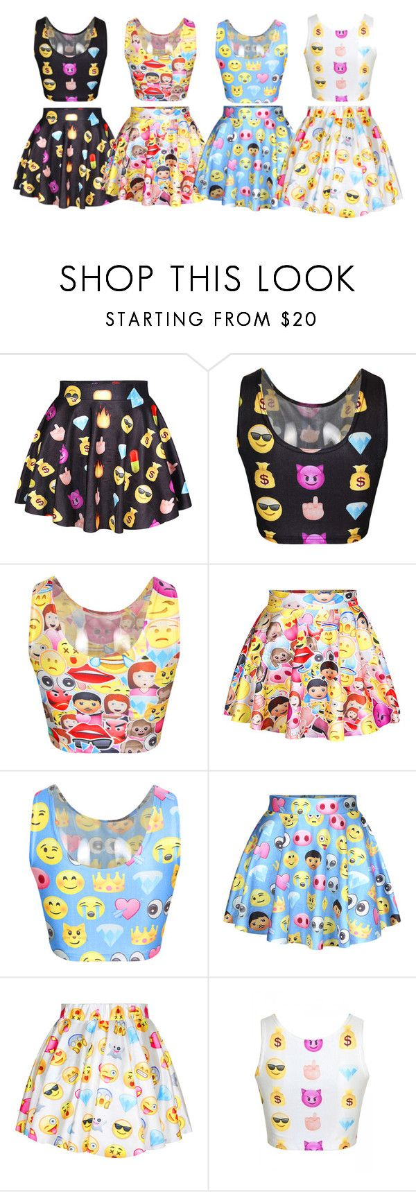 Emoji Dress | Emoji Emojis and Polyvore