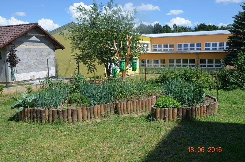 tento funkčný záhon sme postavili podľa inštrukcii z časopisu Záhradkár a teraz sa tešíme z prvej krásnej a chutnej úrody.