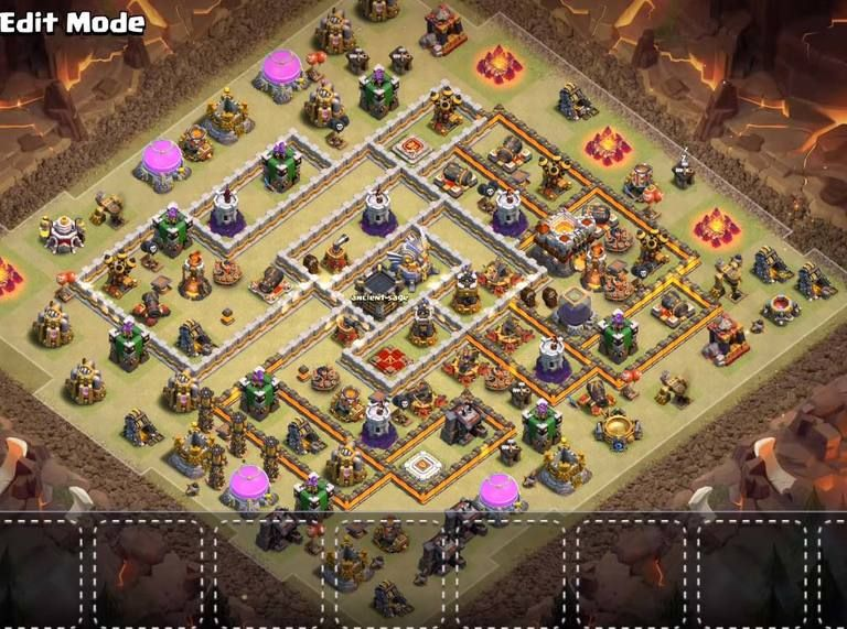 Base Coc Th 11 Terkuat War 11