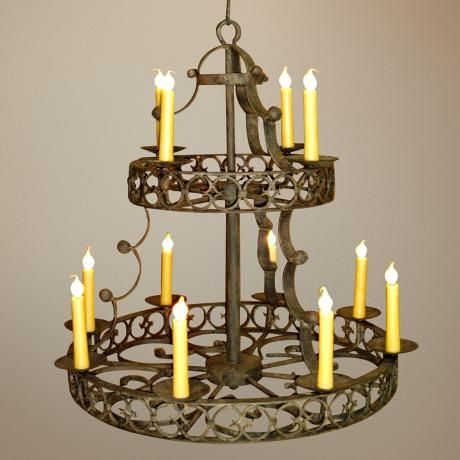 Laura lee cordoba 12 light large candle chandelier large candles laura lee cordoba 12 light large candle chandelier aloadofball Image collections