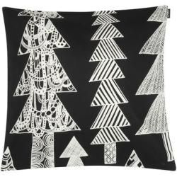 Kuusikossa Kissenüberzug / 45 x 45 cm - Marimekko - Weiß,Schwarz Marimekko #bearplushtoy