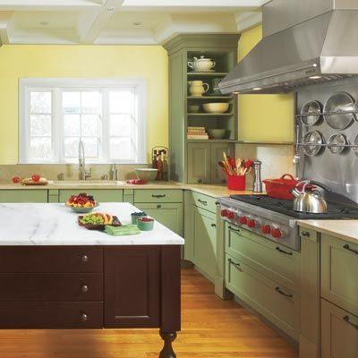 Kitchen Cabinets Painted Moss Green Brown Kitchen Cabinets Kitchen Cabinets Pictures Green Kitchen Cabinets