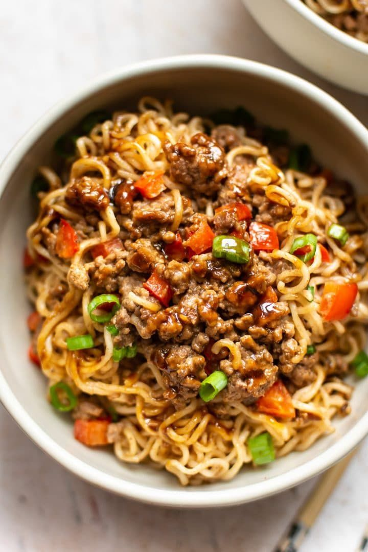 Beef Ramen Noodles Recipe Beef Noodles Beef Recipes Asian Beef
