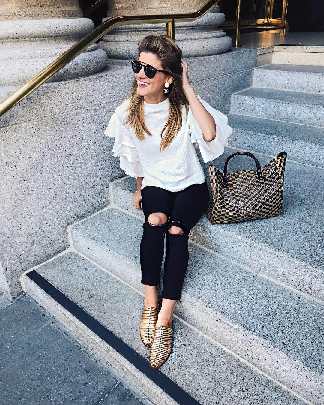 a423a92f161 platform sneakers (& ck out that bracelet) | Fashionista | Inspiración