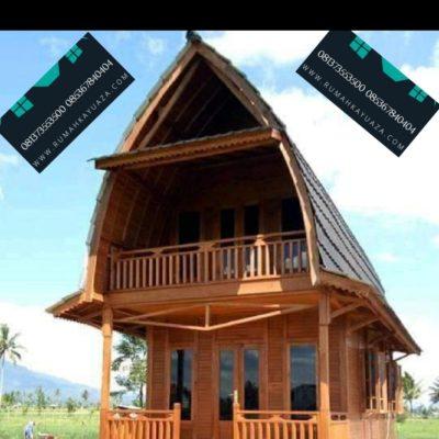 rumah-kayu-palembanglumbung-2-lantai   rumah kayu, rumah, kayu