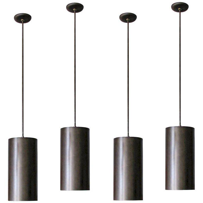 Xl Prescolite Pendants Ceiling Light Fixtures Vintage Lamps