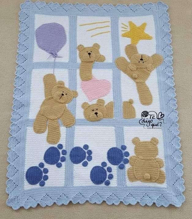 Pin von pieters elmarie auf baby blankets | Pinterest | Häkeln