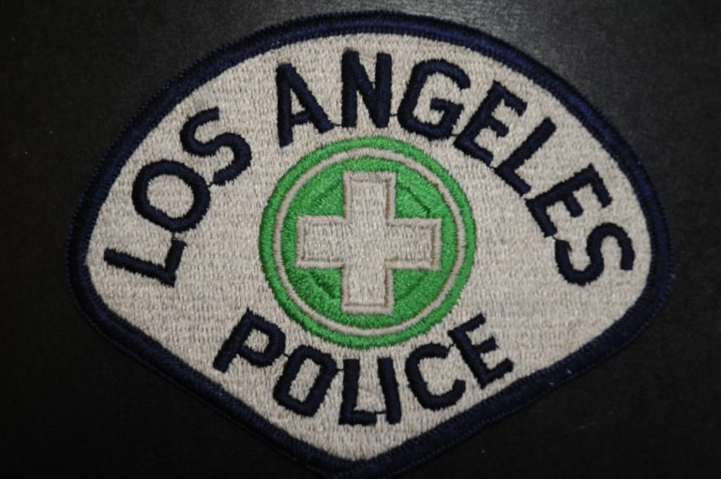 Los Angeles Police Patch - Traffic Division, Los Angeles ...