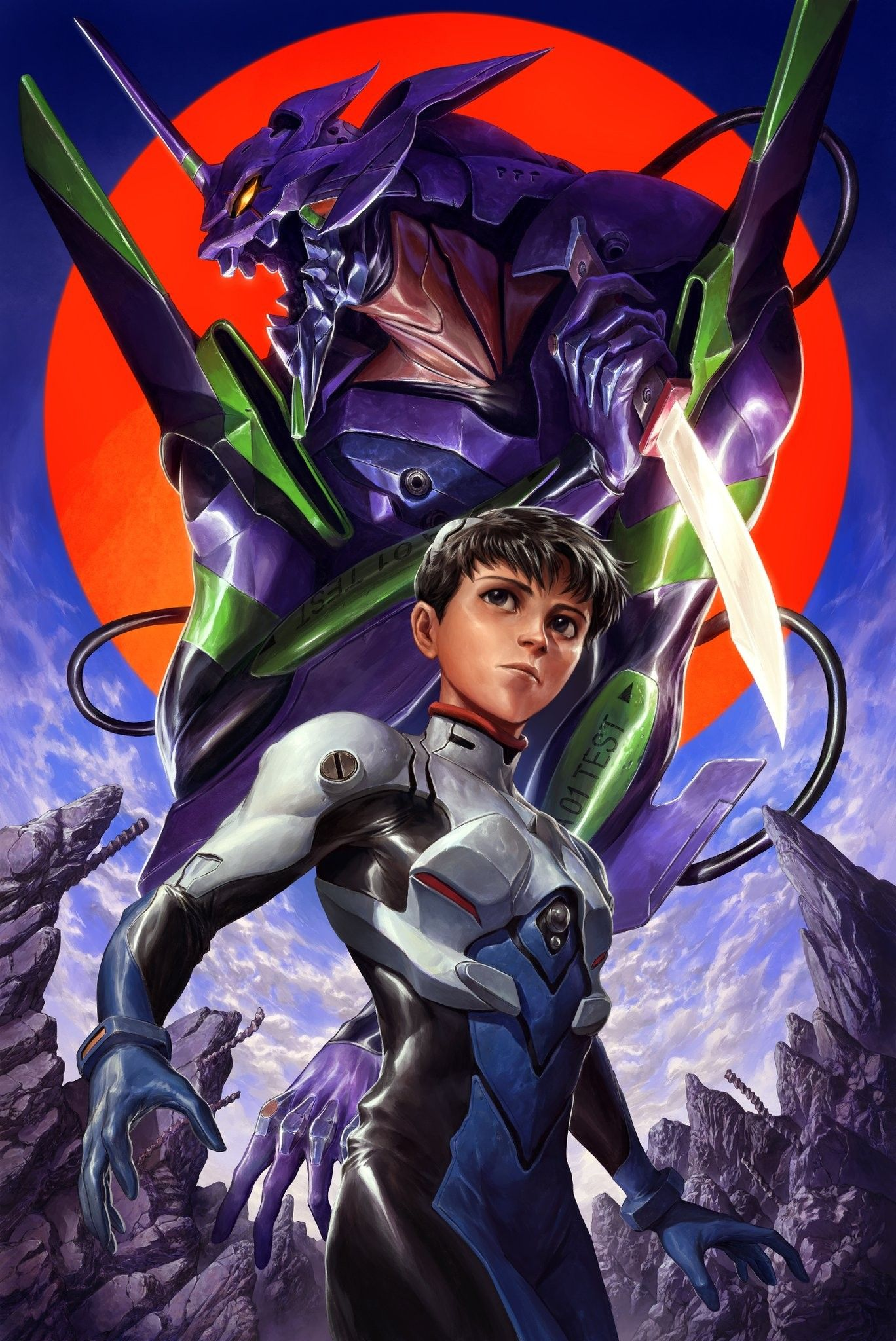 Pin By Anubes On Robot In 2020 Neon Genesis Evangelion Evangelion Recent Anime