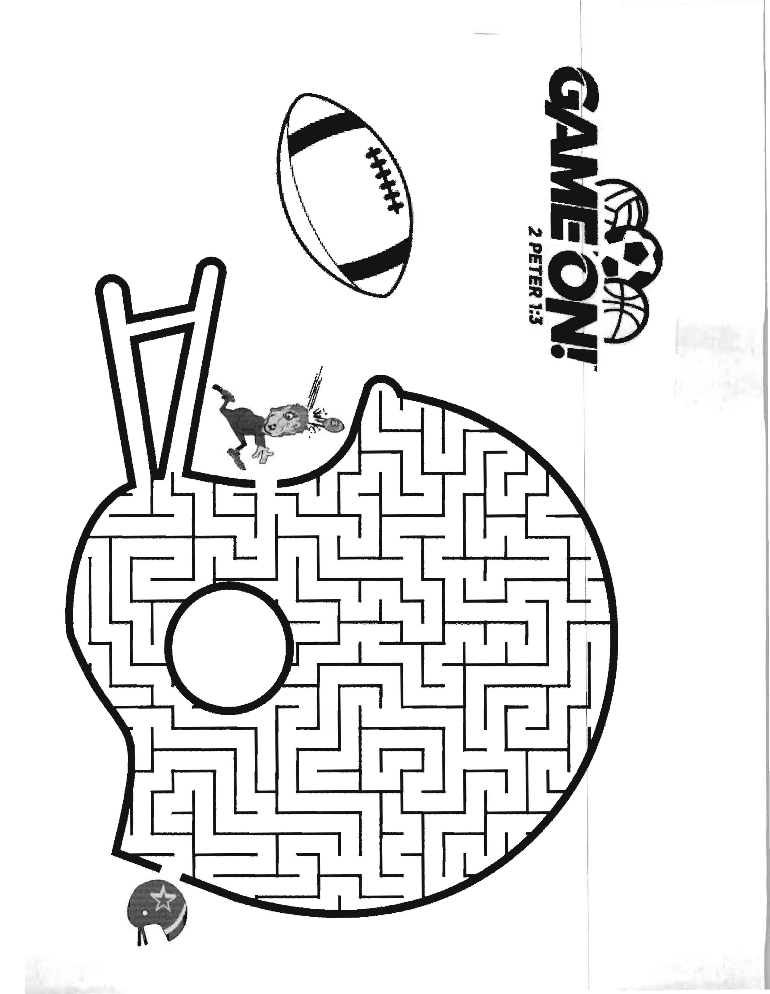Game On! VBS 2018 Coloring Sheet | Game On VBS 2018 | Pinterest ...