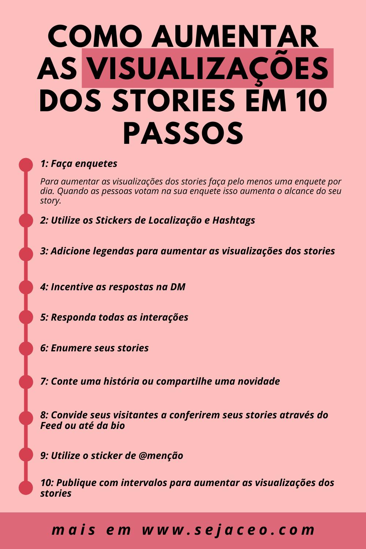 Como aumentar as visualizações dos stories