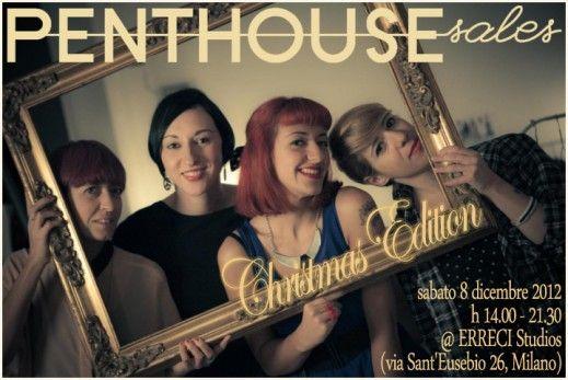 #PenthouseSales Christmas Edition via Sant'Eusebio 26, #Milano - Sabato 8 Dicembre