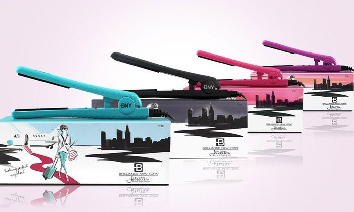 Brilliance New York Jetsetter 0 5 Travel Size Mini Flat Irons Deal Of The Day