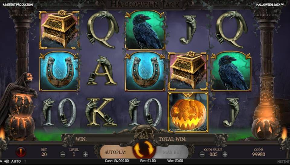 Halloween Jack Slot Machine