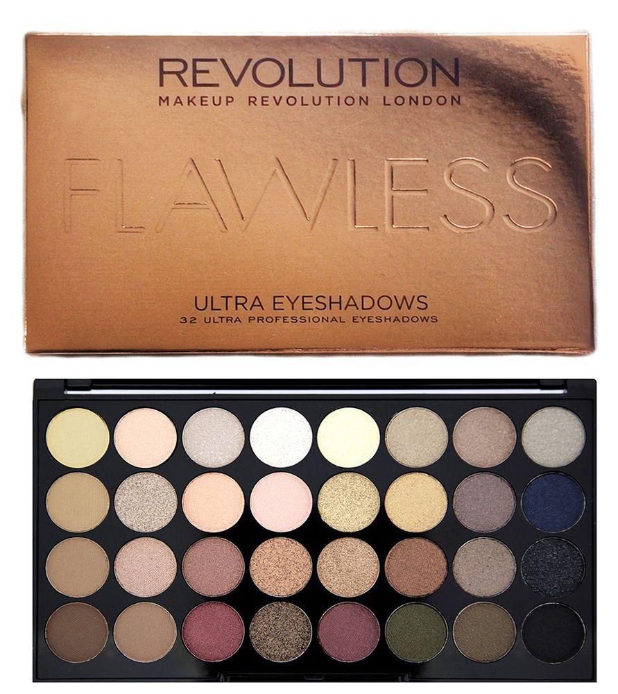Details about Makeup Revolution 32 Mattes & Shimmer
