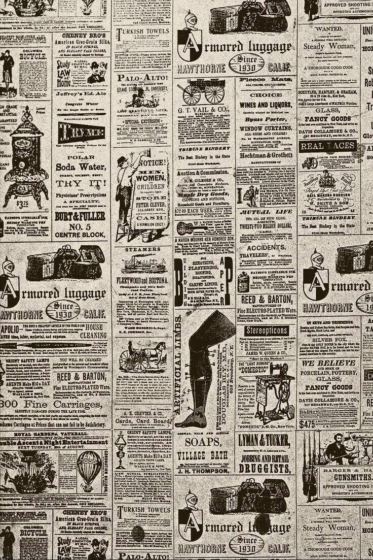 vesnici | background patterns | newspaper, old newspaper, vintage