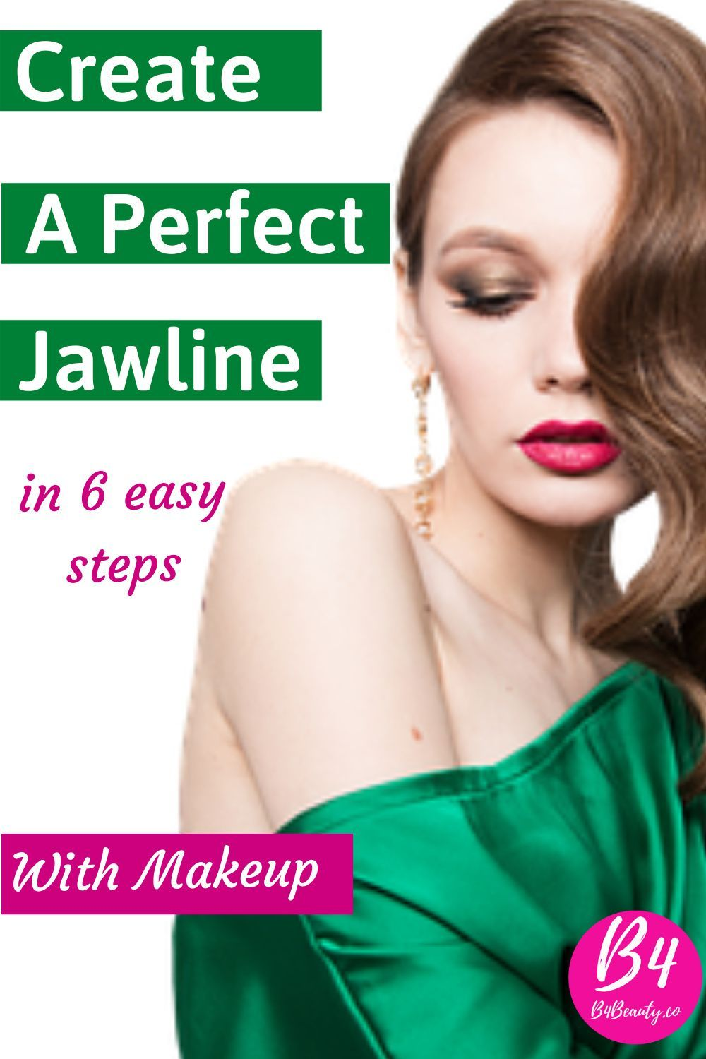 """You may have heard hundreds of solutions for getting a jawline. Some say do facial yoga some say go for the surgery. The best way to get a temporary jawline is by doing makeup. Then how to get a jawline with makeup, the answer is """"Contouring your face"""".Contouring becomes so popular mostly for the chubby people. The women having cute chubby cheeks are always dreaming of a sharp oval and slim face."""