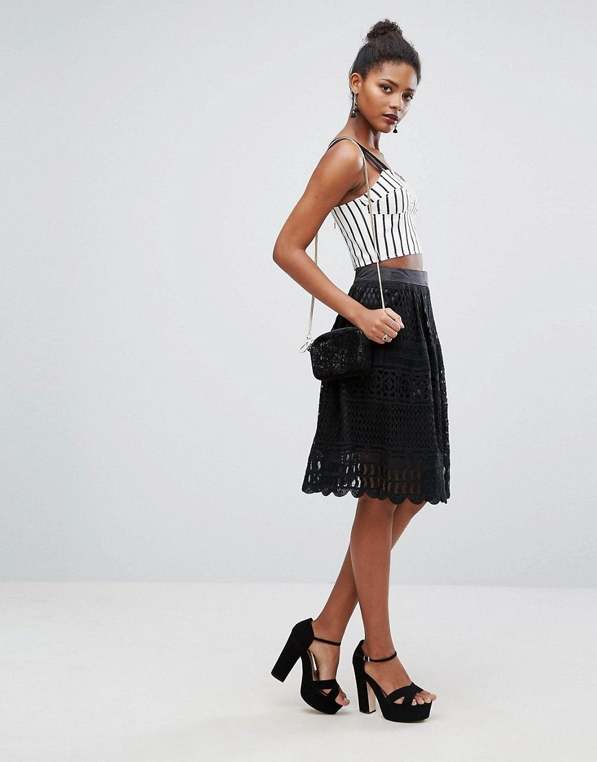 Get this new lookus knee skirt now click for more details