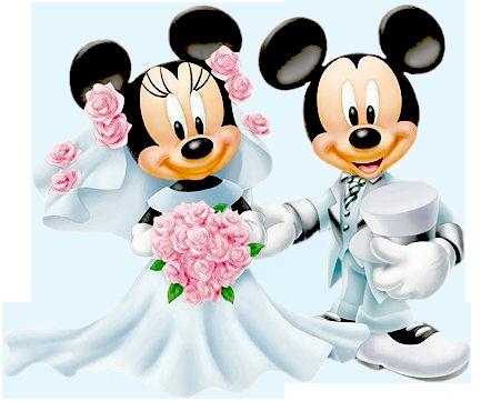 Bride Groom Minnie Mickey … | Pinteres…