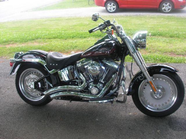 2007 Harley-Davidson FAT BOY Cruiser , black, 11,150 miles for sale in Roanoke, VA