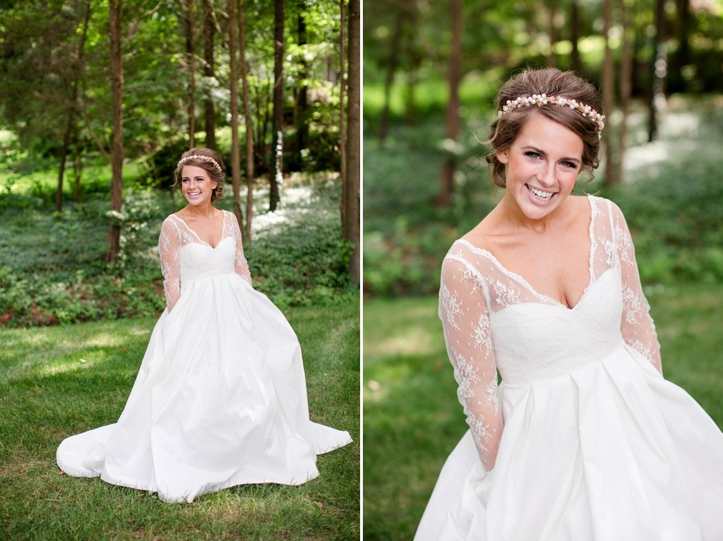 THAT DRESS!   This | Virginia Wedding Photographer | Katelyn James Photography