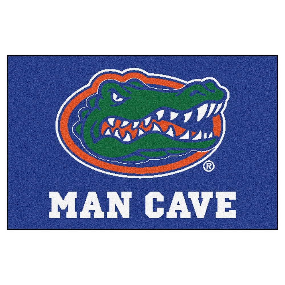 Ncaa 19 X 30 In Man Cave Starter Rug Florida Gators Man Cave Area Rugs Florida Blue Florida Gators