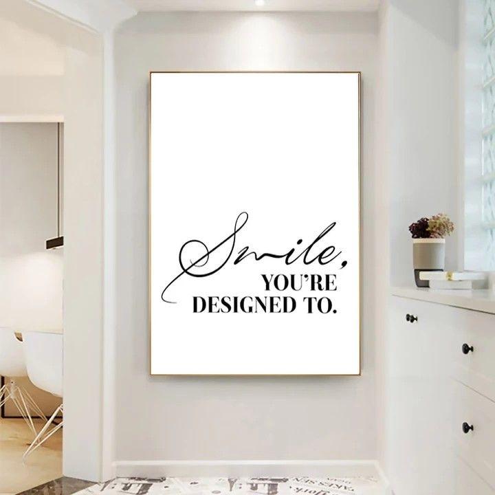 Quote Poster Dental Office Decor Dental Office Design Interiors Clinic Interior Design
