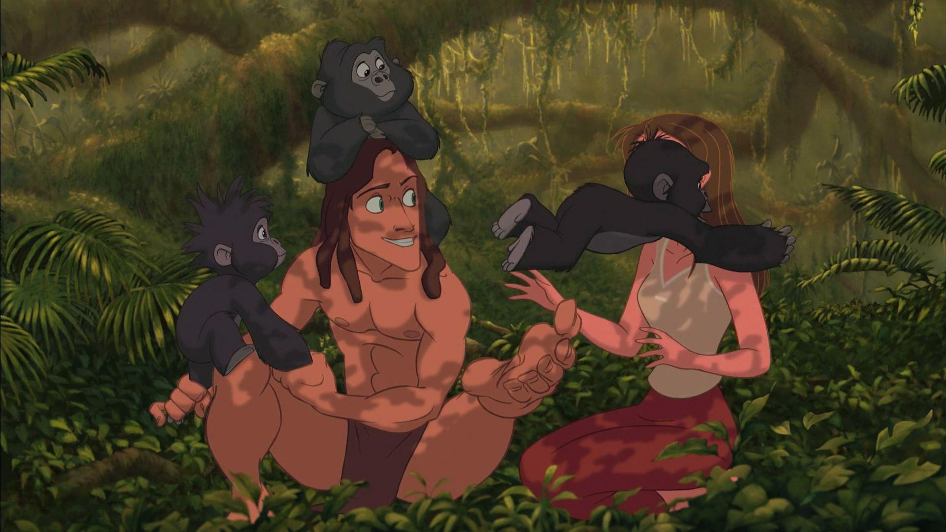 Tarzan (1999) - Disney Screencaps.com | Tarzan ... Тарзан 1999