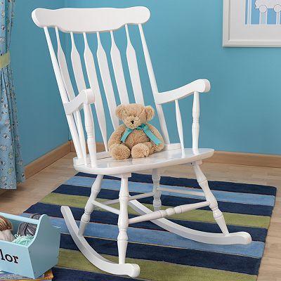 Kidkraft Rocking Chair Rocking Chair White Wooden Rocking Chair