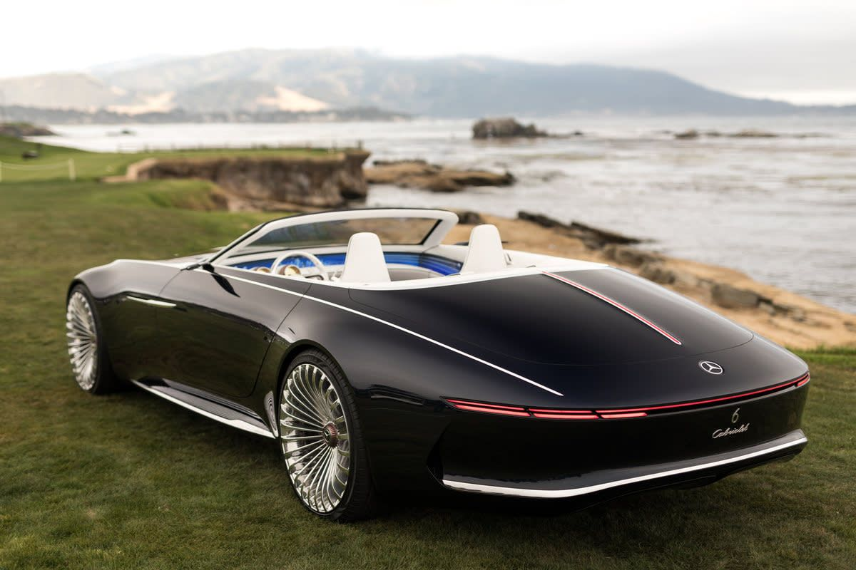 Behold The Jaw Dropping Mercedes Maybach 6 Cabriolet An Absolute