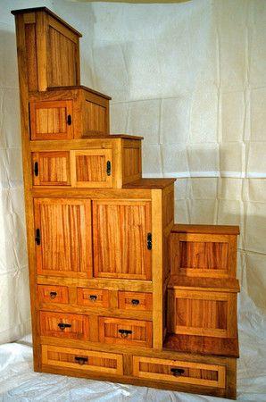 Japanese Tansu Furniture Kaidan Dansu (step Chest) ($1,832.00)   Svpply