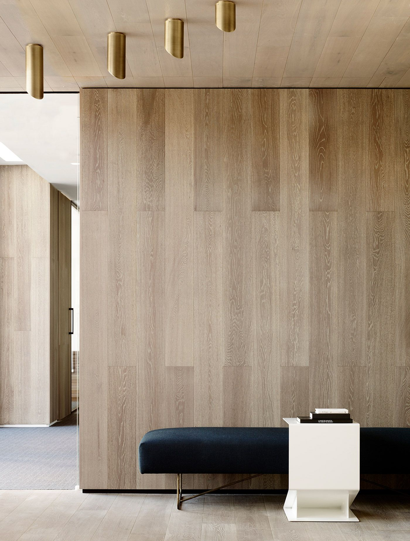 The interior philosophy adopts the comfort and feeling of - Residential interior wall panel systems ...