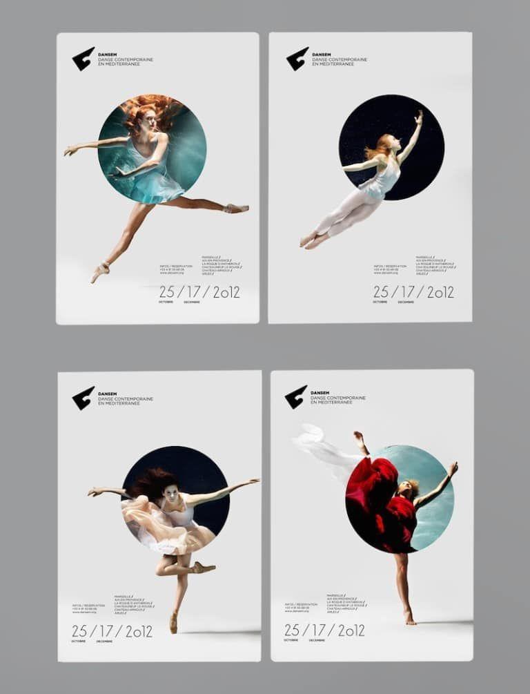 10 Stunning Poster & Magazine Layouts that use Photography #magazinelayouts